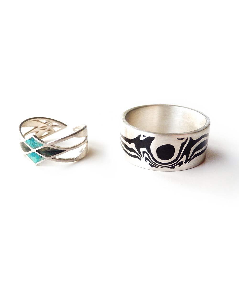 Zilveren-ringen-met-Shungiet