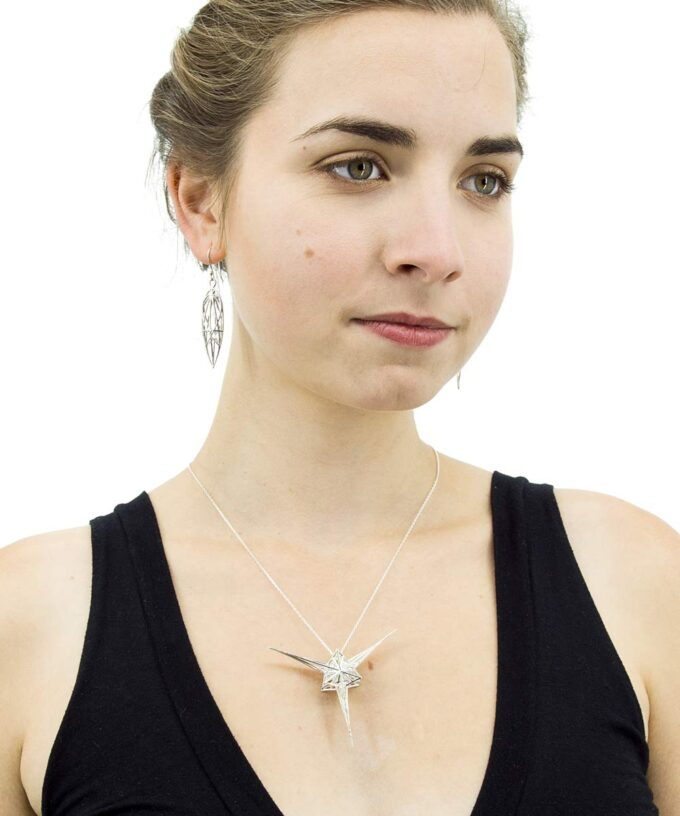 Angelic Star Pendant - Sterling Silver