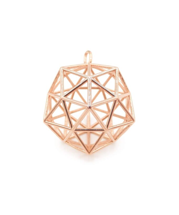 Concious Crystal - Rose Gold Plated Brass