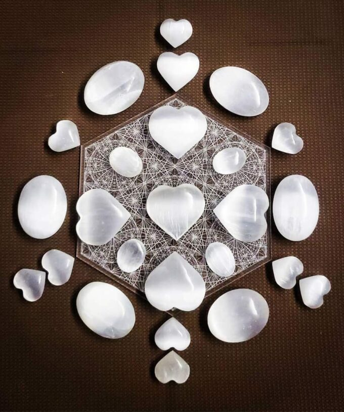 Crystal Grid Angelic Flower of Life