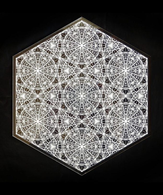 Crystal Grid - Angelic Flower of Life