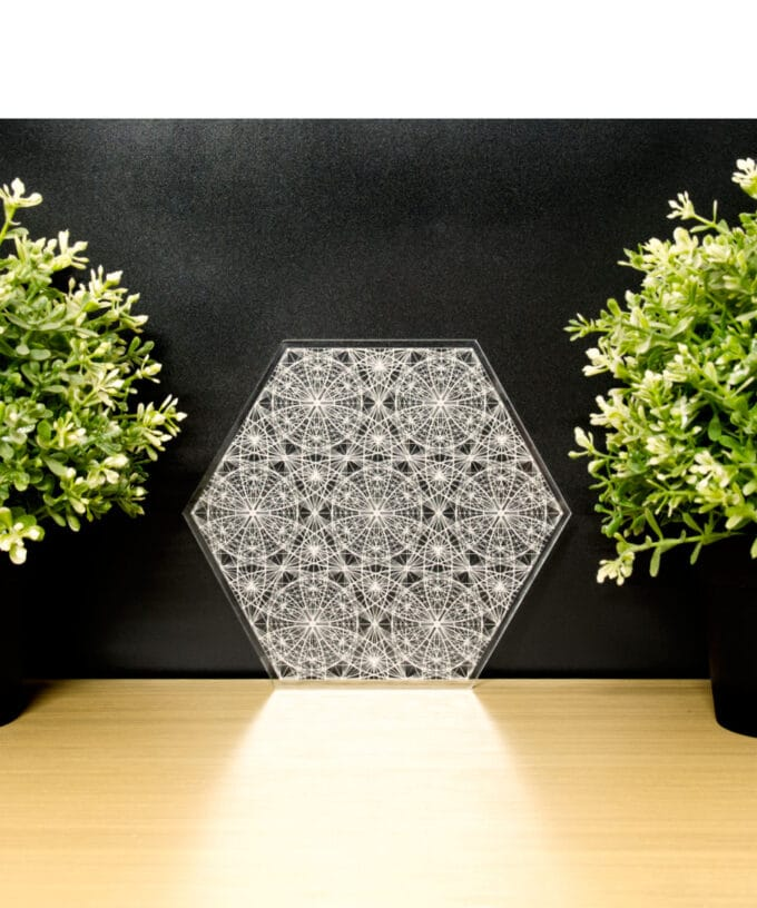 Crystal Grid - Angelic Flower of Life - 17.5
