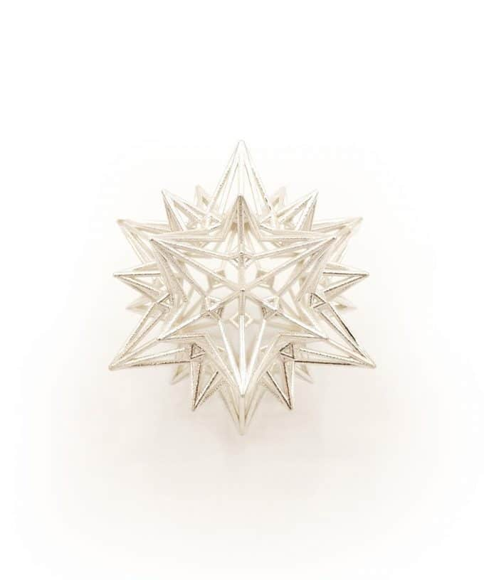 Divine Love Star Sterling Silver