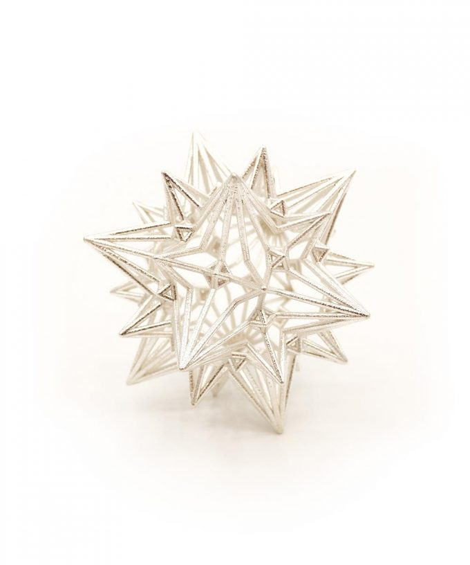 Divine Love Star Sterling Silver
