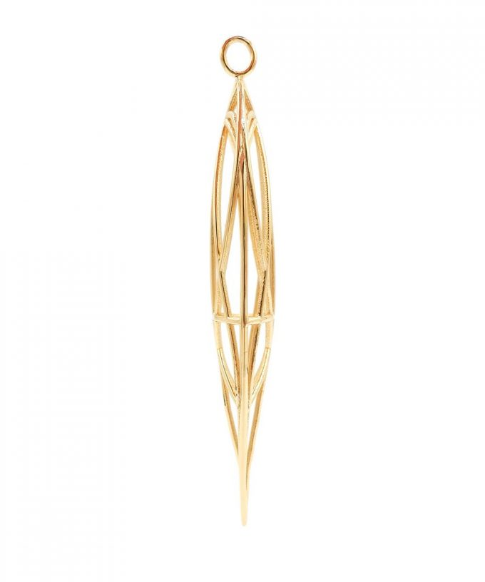 Magdalene Pendant Gold Plated Brass