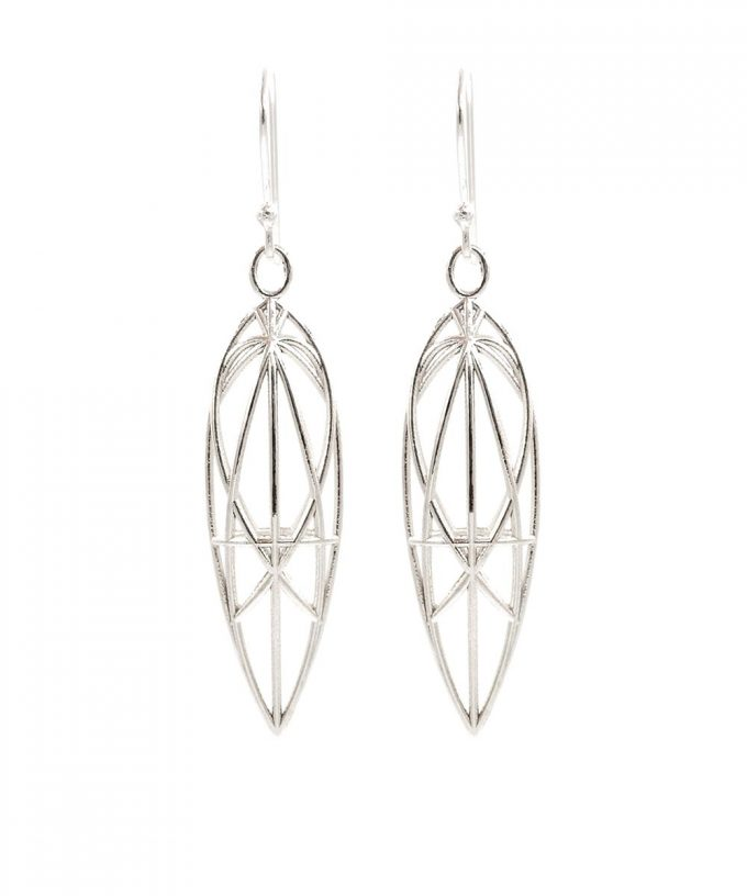 Magdalene Earrings Sterling Silver