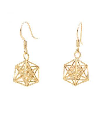 Metatron Cube Earrings