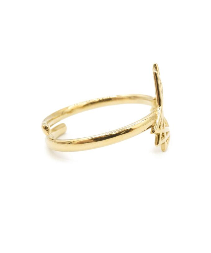 Sacred Creation Ring - Brass