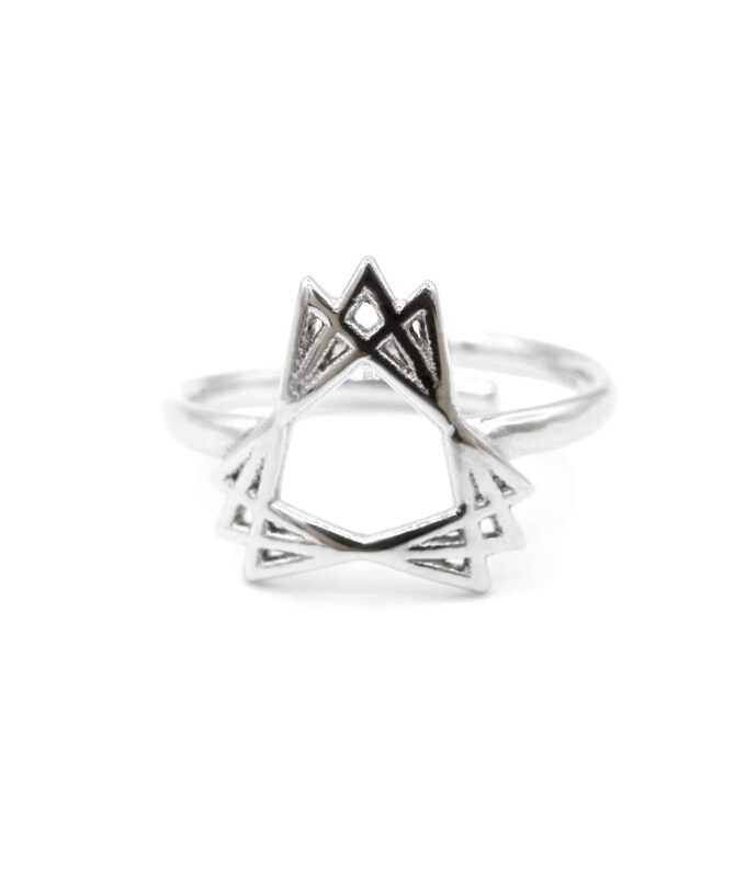 Sacred Creation Ring - Sterling Silver