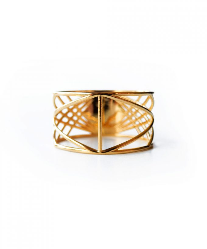 Sri Yantra Ring Gold
