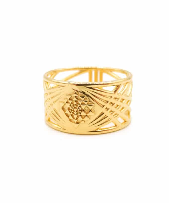 Sri Yantra Ring