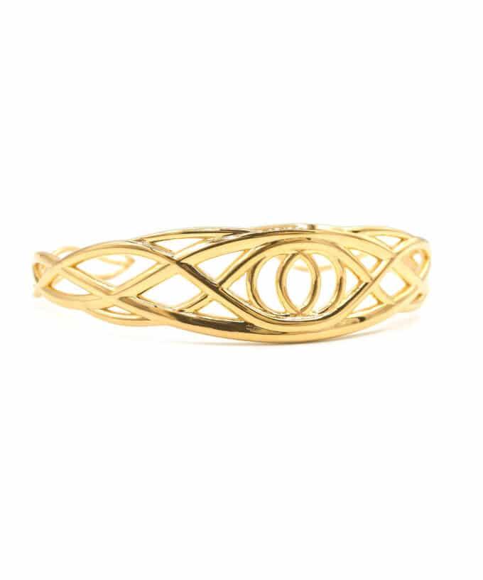 Tree of Eden Bracelet - Gold Plated Brass