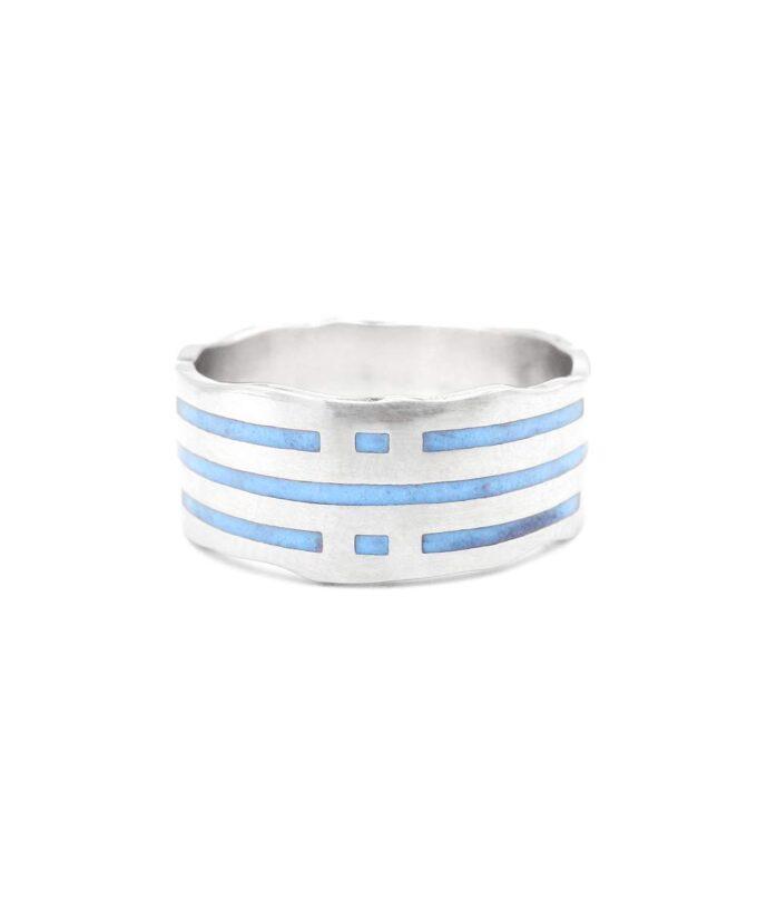 Atlantis Ring Glow in the Dark - Silver