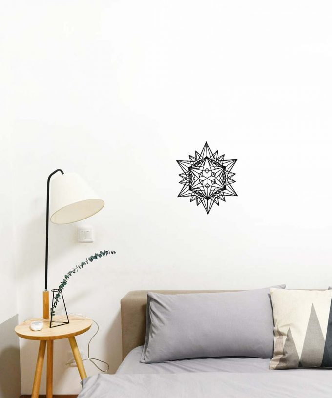 Divine Love Star Wall Decal