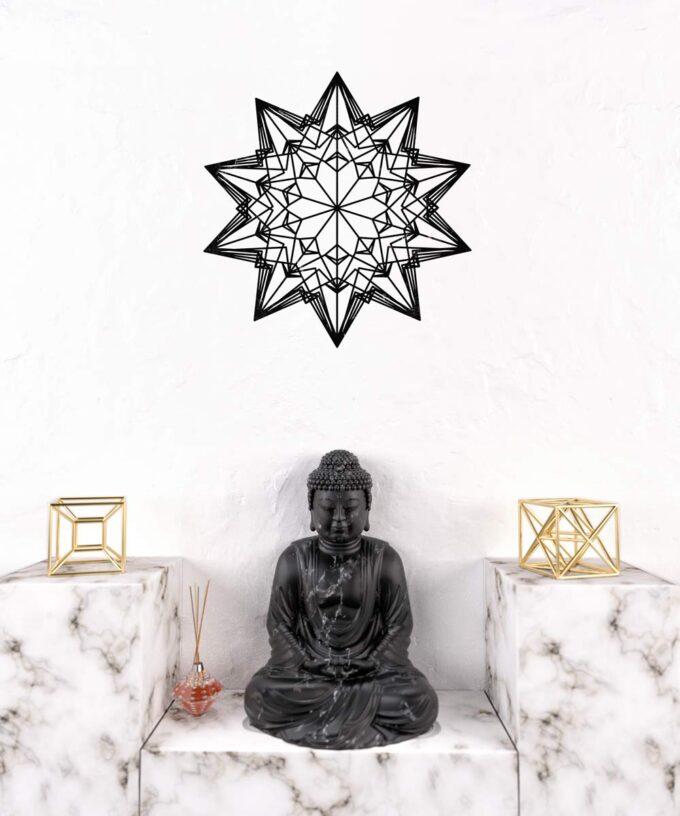 Divine Love Star Wall Decal II