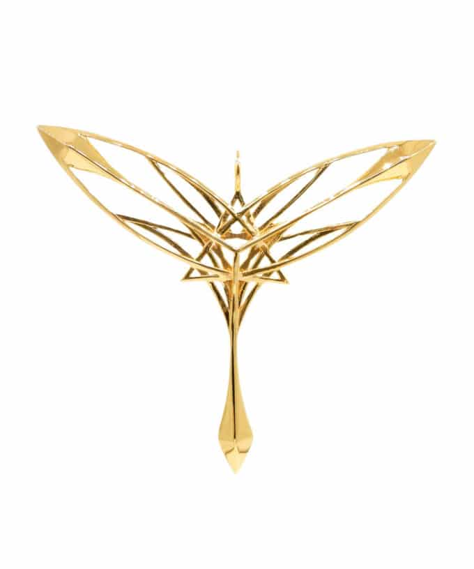 Guardian of Gaia - Gold Plated Brass