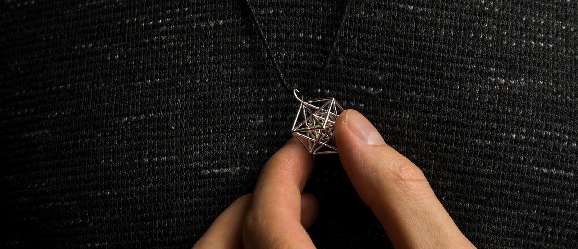 Win a Metatron Cube Pendant