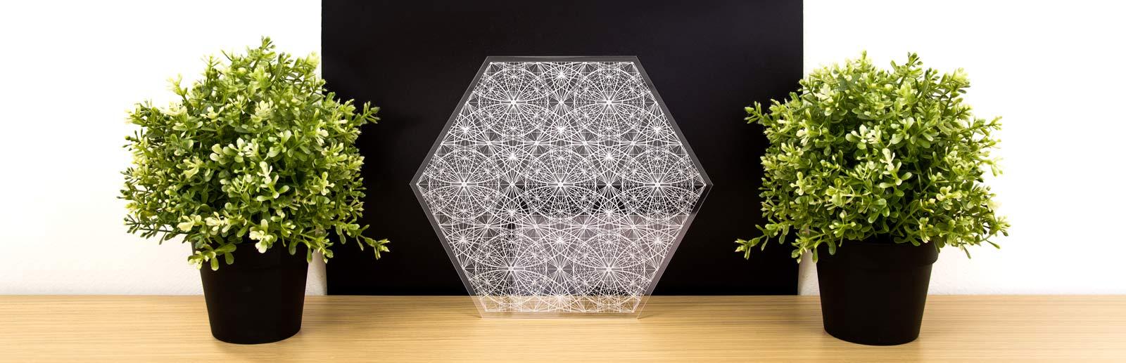 Heilige Geometrie Woondecoratie