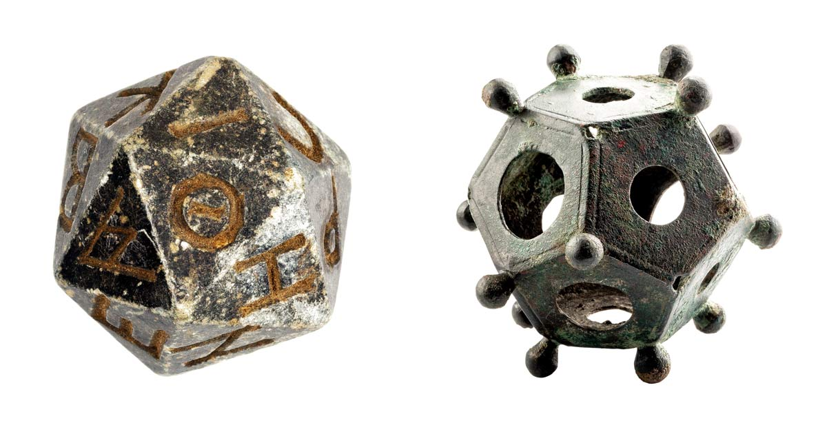 Ancient Roman and Egyptian Dices