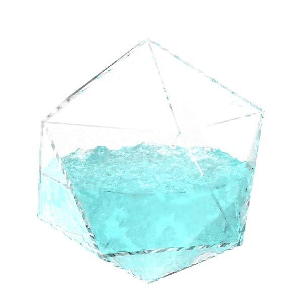 Icosahedron Water