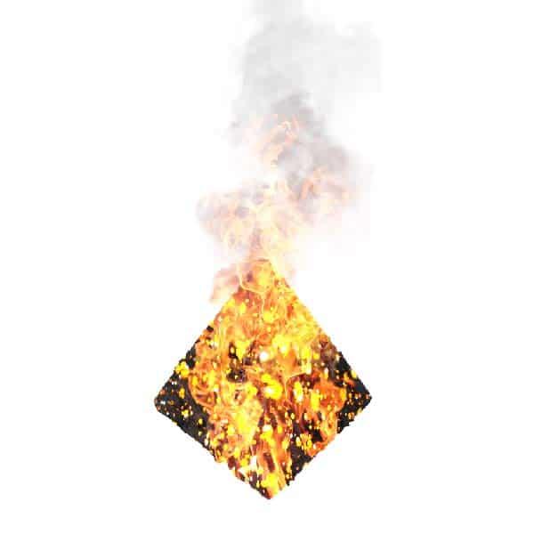 Tetrahedron Fire