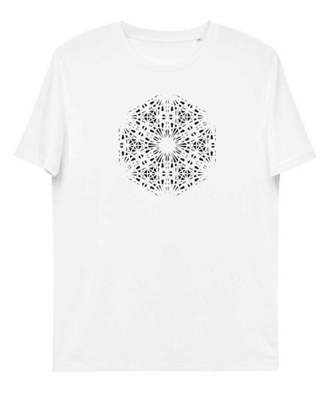 Mary Magdalene Grid Unisex T-shirt - White