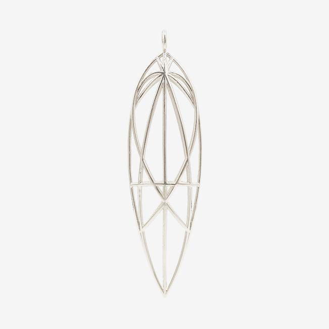 Mary Magdalene Pendant - Sterling Silver