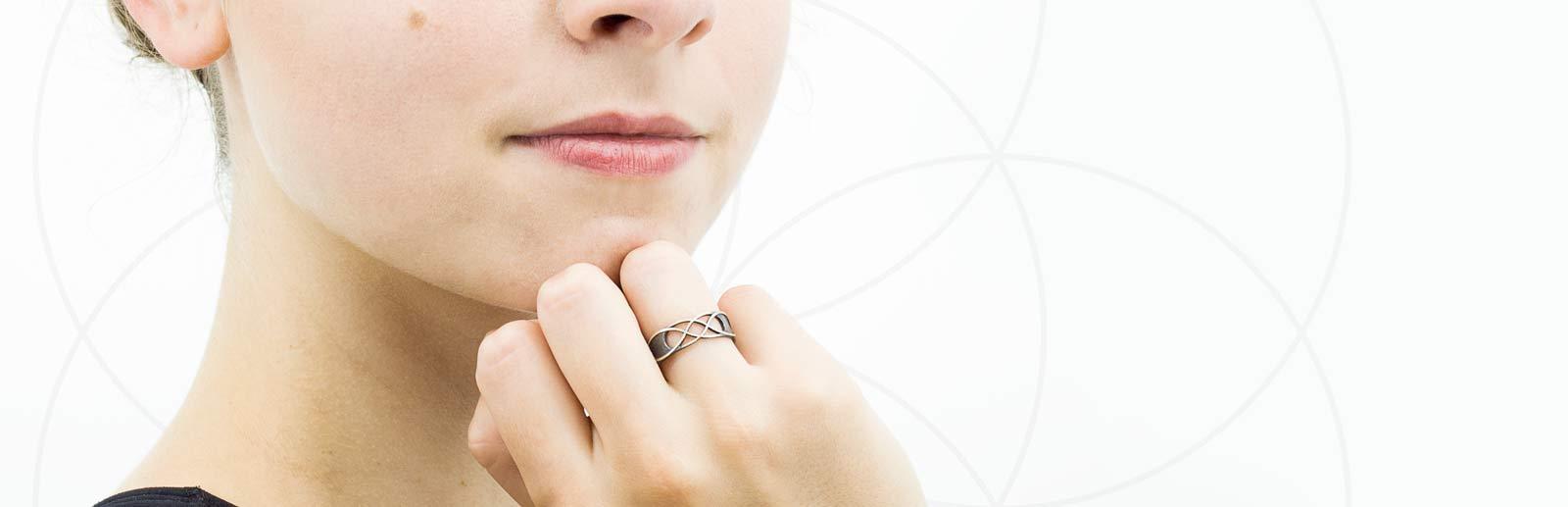 Heilige Geometrie Ringen
