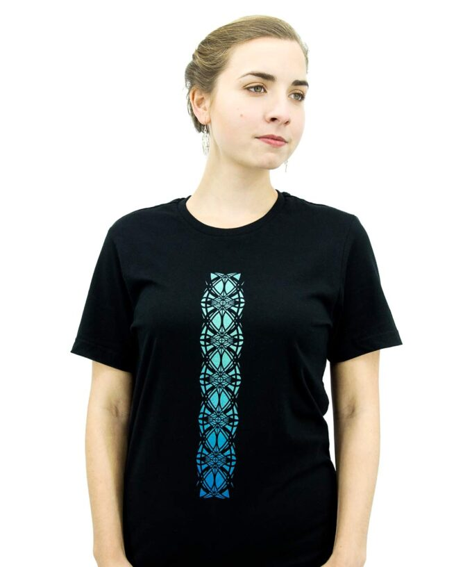 Cosmic Egg Unisex T-Shirt - Black