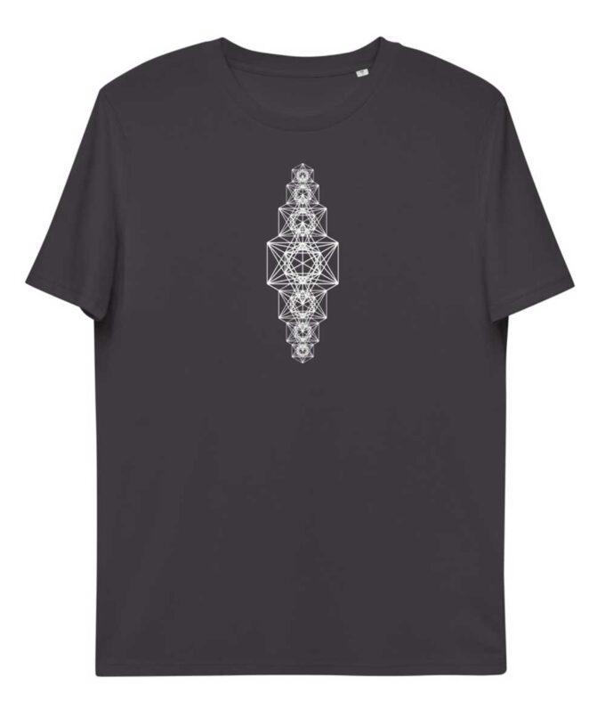 Metatron Chakra Unisex T-shirt - Anthracite