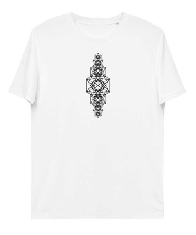 Metatron Chakra Unisex T-shirt - White