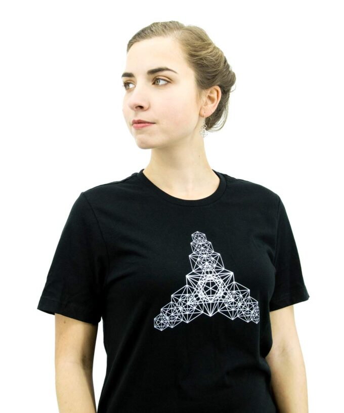 Metatron Hyper Cube T-Shirt - Black