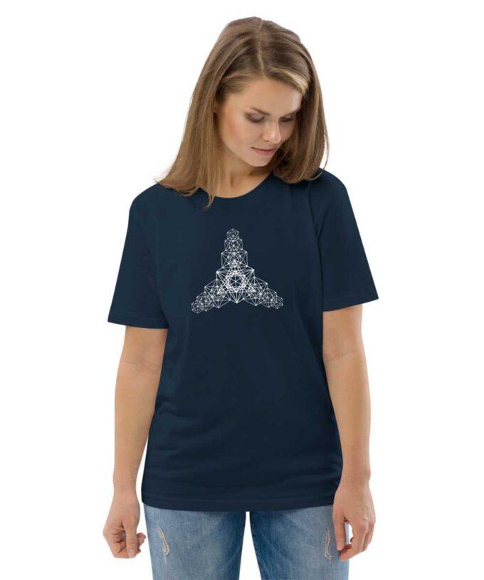 Metatron Hypercube Unisec T-shirt - Black