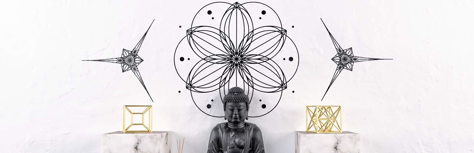 Heilige Geometrie Wanddecoratie