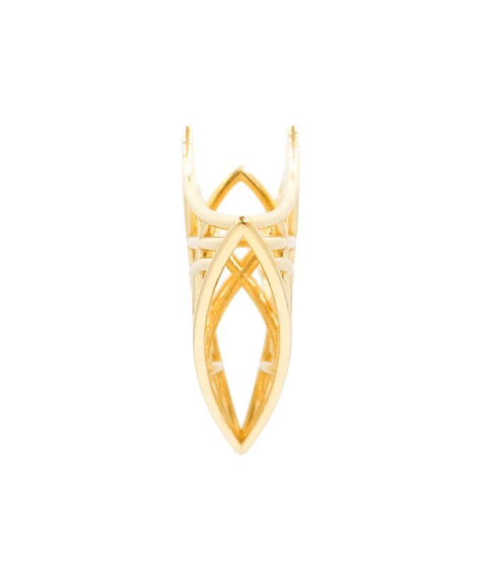 Atlantean-Priestess-Pendant-Gold-Plated-Brass