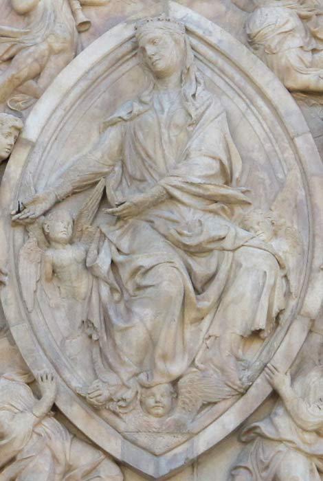 Saint in Mandorla - Vesica Piscis