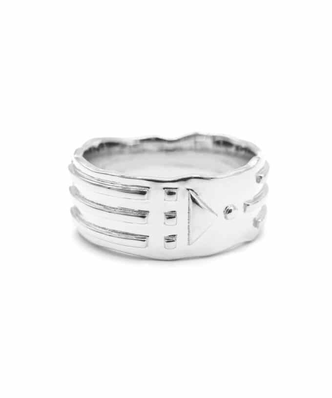 Atlantis Ring - Solid - Sterling Silver