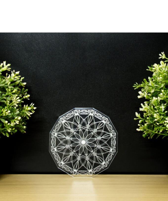 Crystal Grid - Co-Creation Lotus - 12cm
