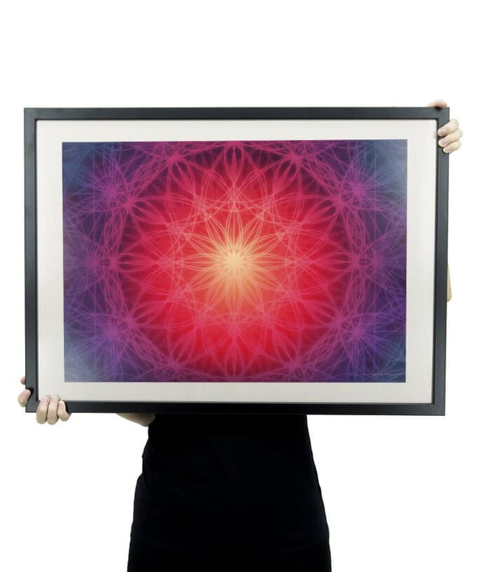 Light Code: Co-Creation Poster - With Frame