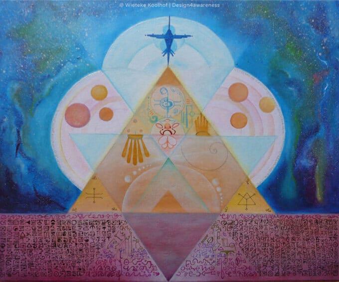 Language of Light Pyramid